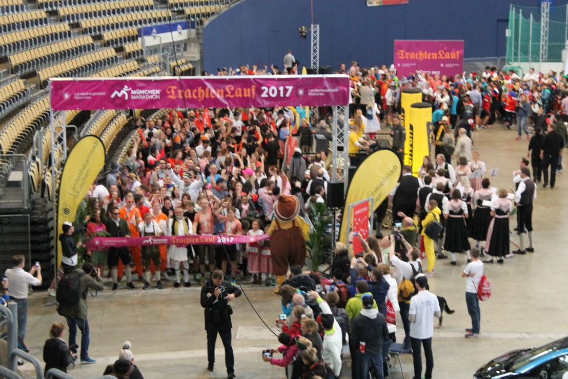 Um 10.30 fiel der Startschuss in der Arena der Olympiahalle.