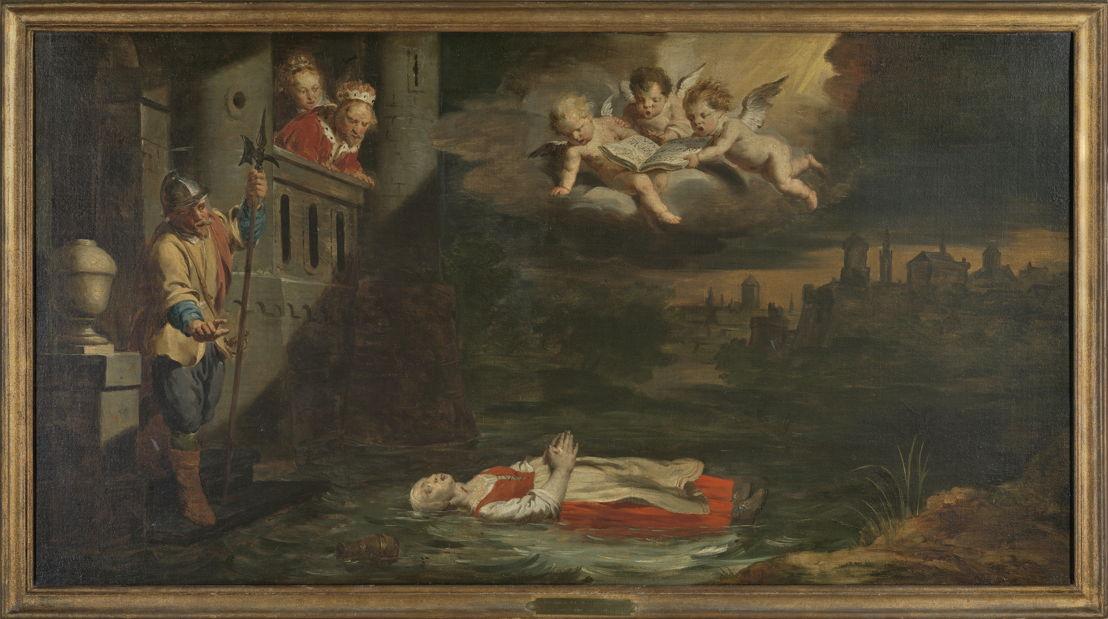 Schilderijencyclus  van Pieter Jozef Verhaghen in de Kapel van de Fiere Margriet