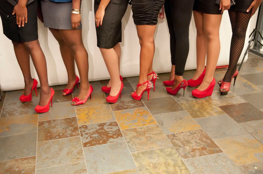Commemorating World AIDS Day 2015 with Fashionable Elegance at  The Red Pump Project's 7th Annual Red Pump/Red Tie Affair on December 5