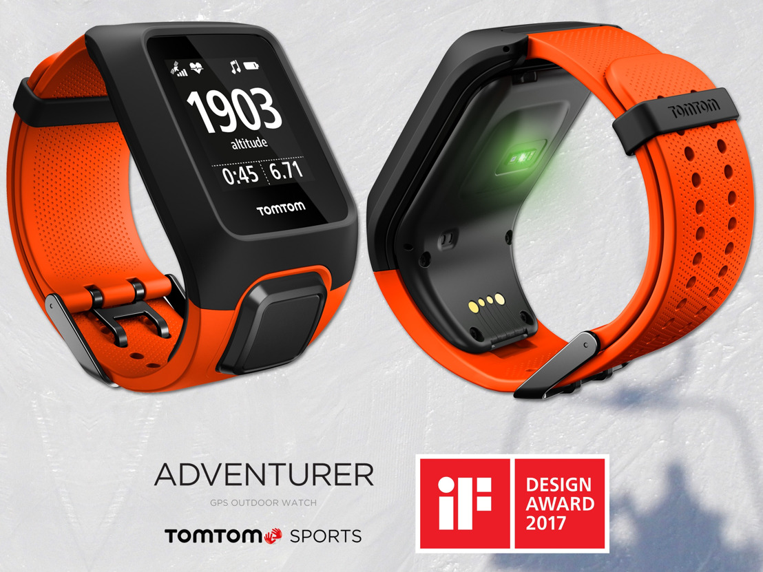 La montre outdoor GPS TomTom ADVENTURER remporte un IF Design Award 2017