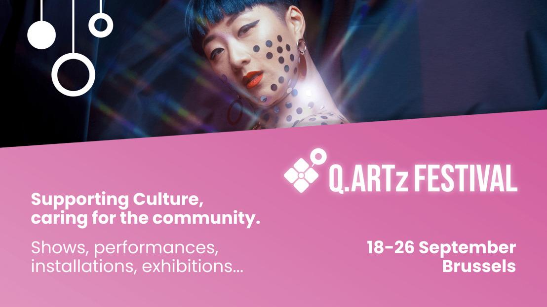 Q.Artz: gloednieuw queer kunstfestival in Brussel