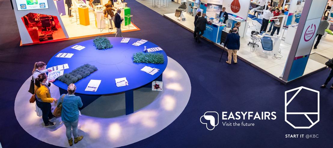 Sales start-ups krijgt boost door partnership Start it @KBC en beursorganisator Easyfairs
