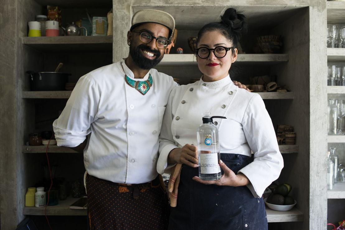 Chefs Norma y Saqib de Masala Y Maiz