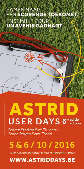 ASTRID User Days eventcommunicatie