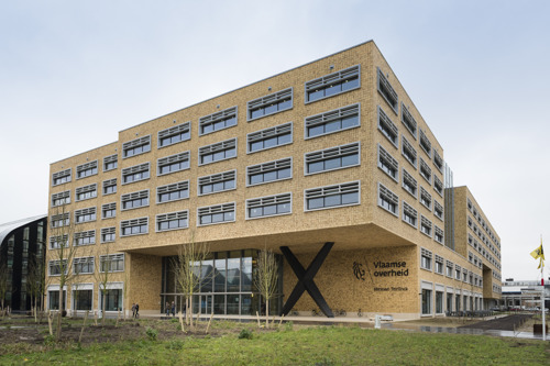 Herman Teirlinckgebouw: KNX en Smart Panels in het meest duurzame kantoorgebouw van het land