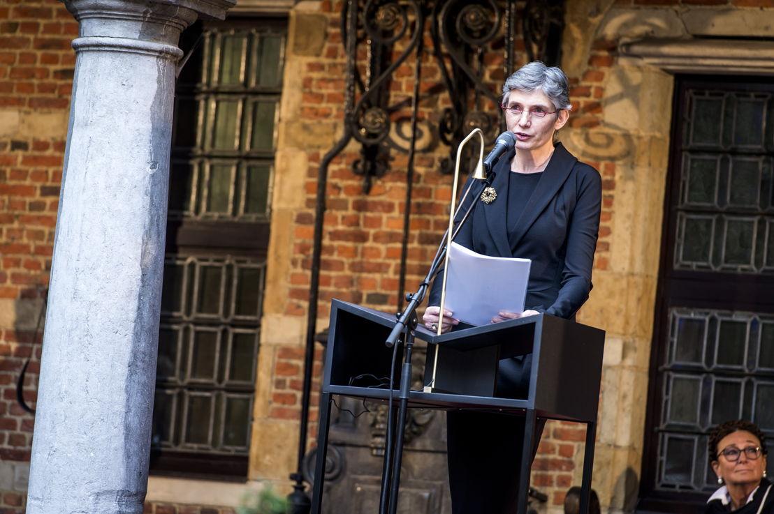 Iris Kockelbergh, directrice Museum Plantin-Moretus (c) Sigrid Spinnox