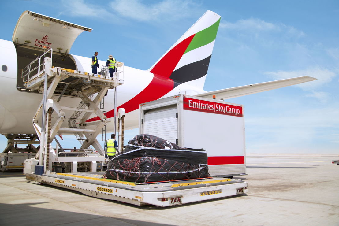 Emirates SkyCargo continues to play an integral role in the company's expanding operations, contributing 14% of the airline's total transport revenue.