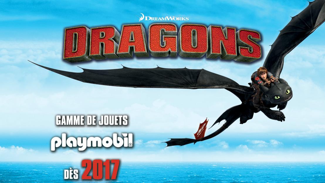De nouvelles aventures PLAYMOBIL de haute volée avec la gamme « Dragons »