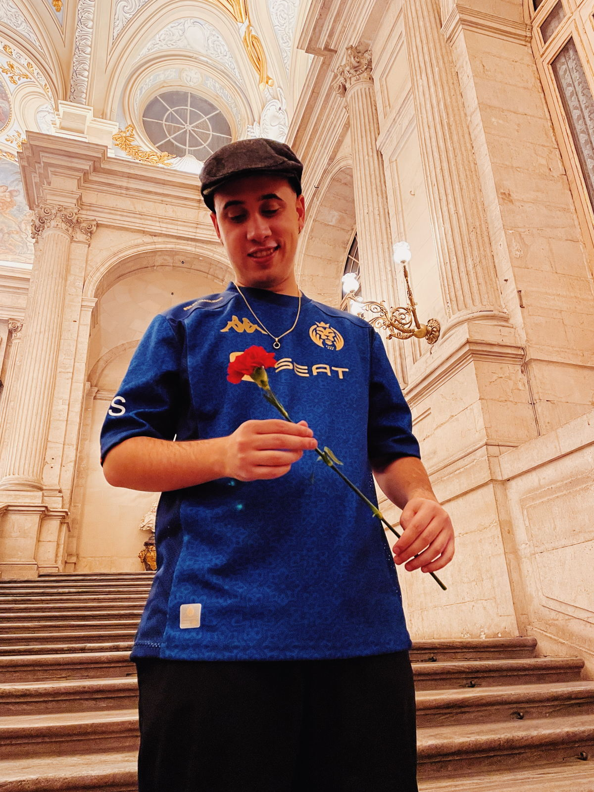 Madrid rapper, ILL Pekeño, The Royal Palace of Madrid