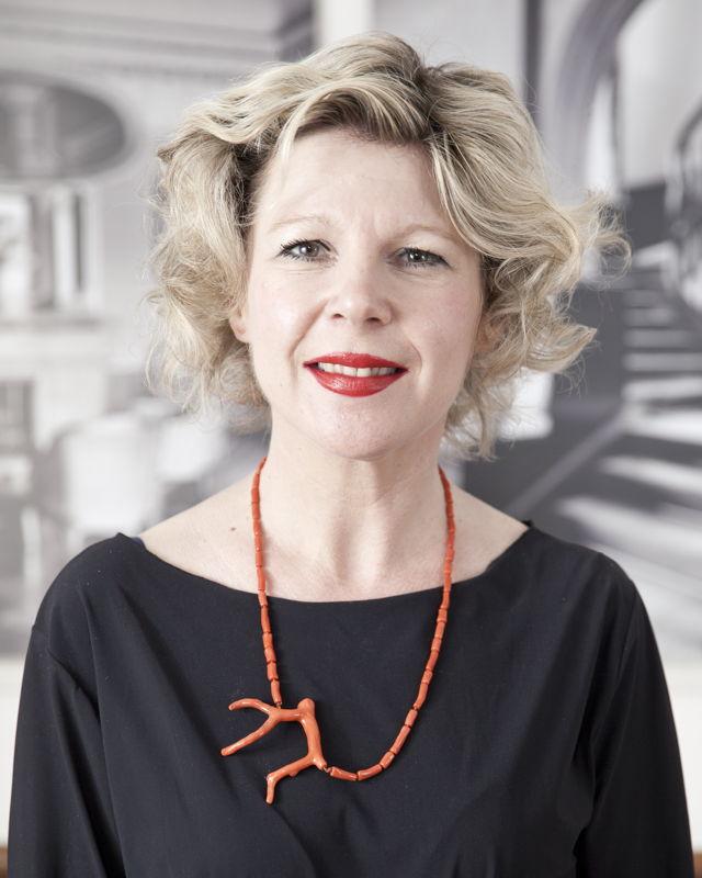 Le professeur Barbara Baert (KU Leuven)