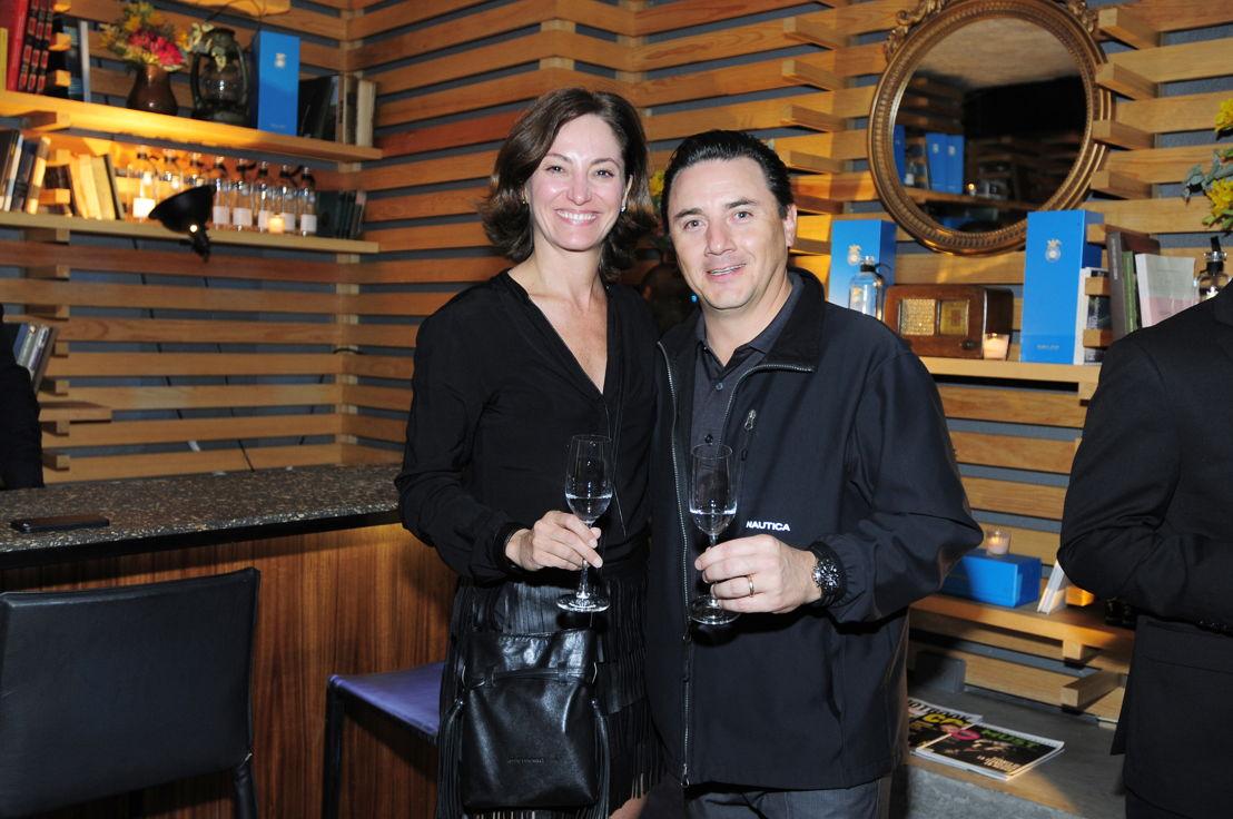Sandra Chollet y Federico López
