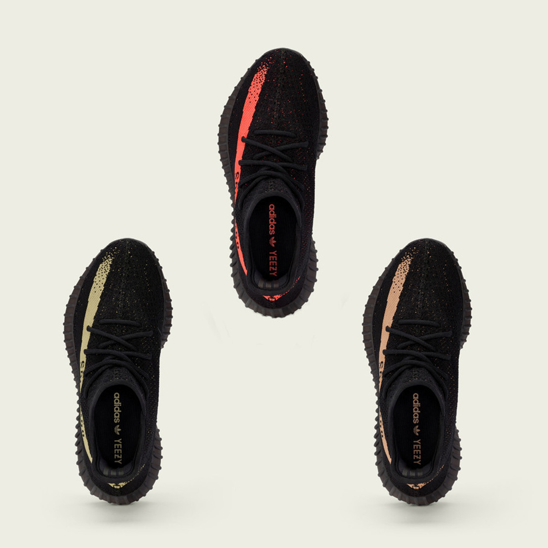 adidas + Kanye West lanzan tres estilos de YEEZY BOOST 350 V2 al mismo tiempo