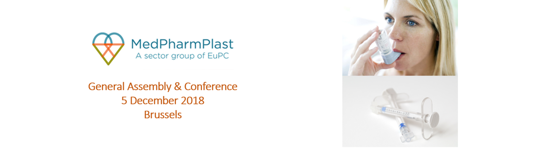 INVITATION to the MedPharmPlast Europe GA & Conference on 5 December 2018 in Brussels