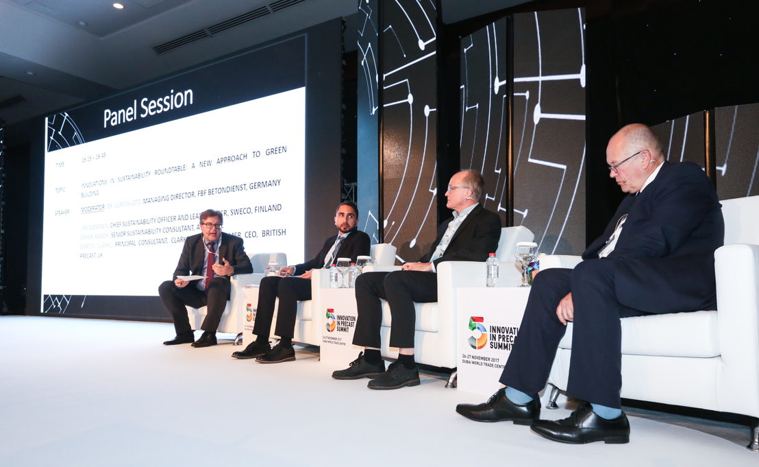 Panel discussion at the Summit