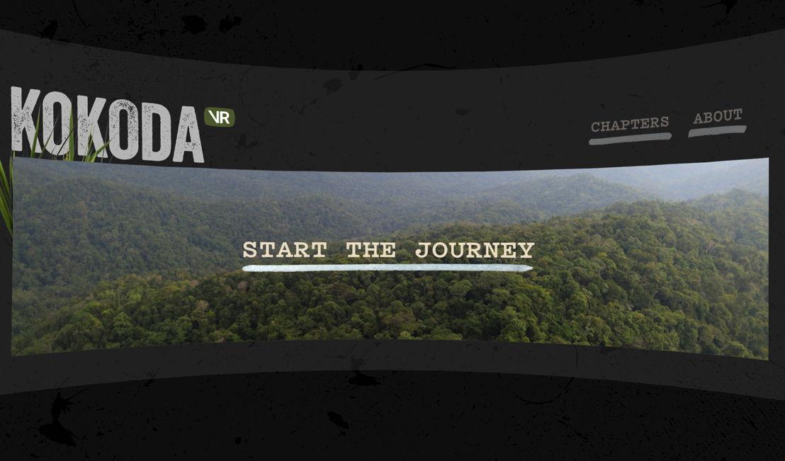 Screenshots of Kokoda VR 2