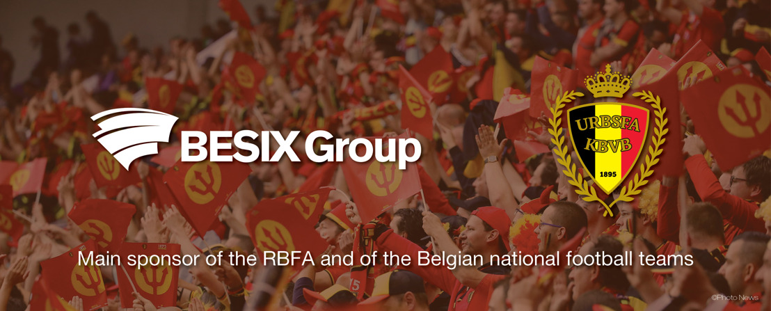 BESIX Group future official sponsor of the Belgian Red Devils