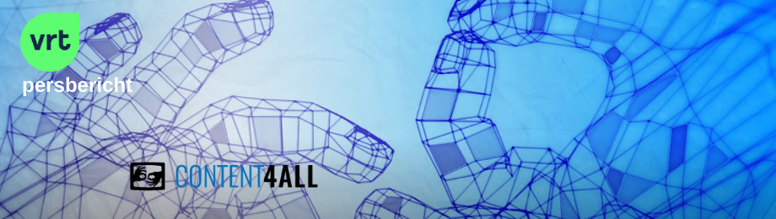 VRT-gebarentaalproject Content4All wint de NAB Technology Innovation Award 2020