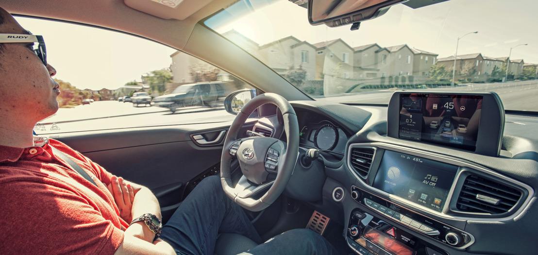 Hyundai präsentiert am Automobilsalon Genf 2017 den Autonomous IONIQ