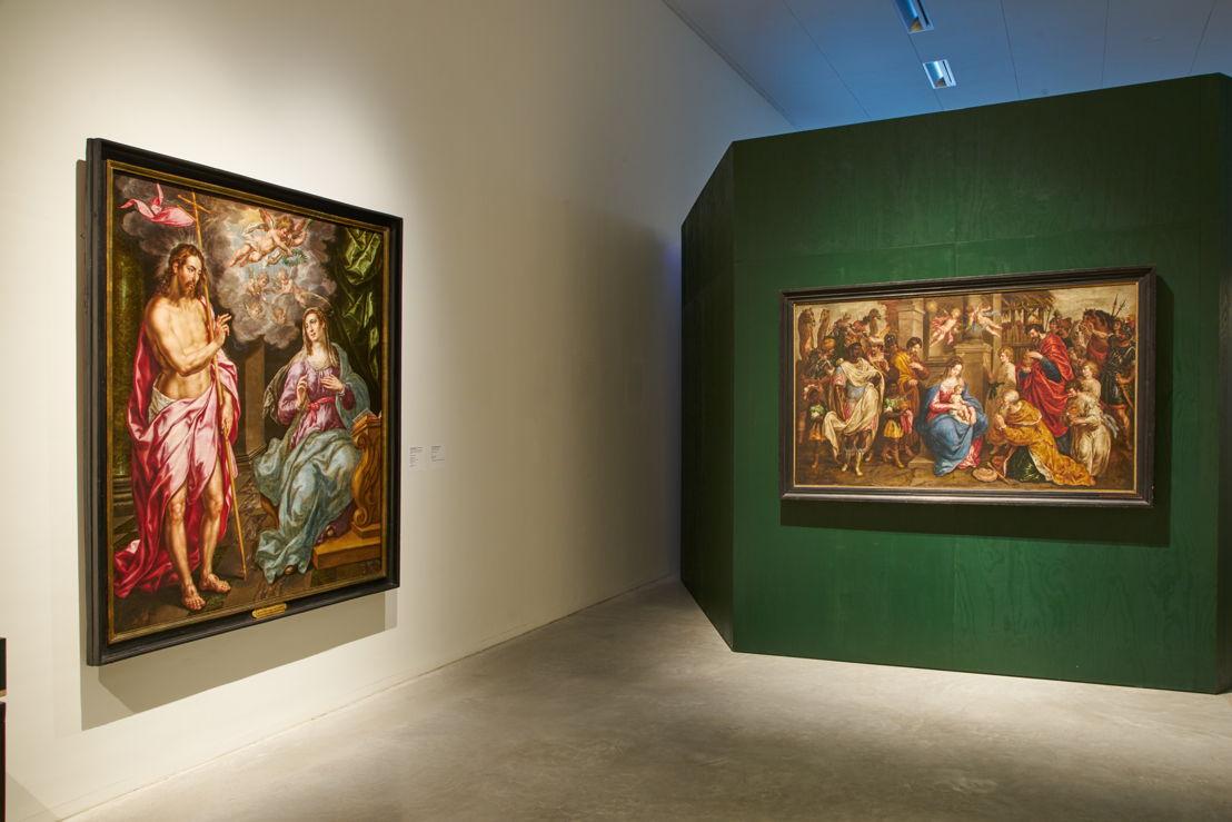 Vue de salle de l'exposition Hendrick De Clerck au M - Musem Leuven (c) Dirk Pauwels