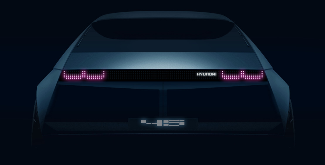 Prima mondiale: Hyundai Motor annuncia la『45』elettrica