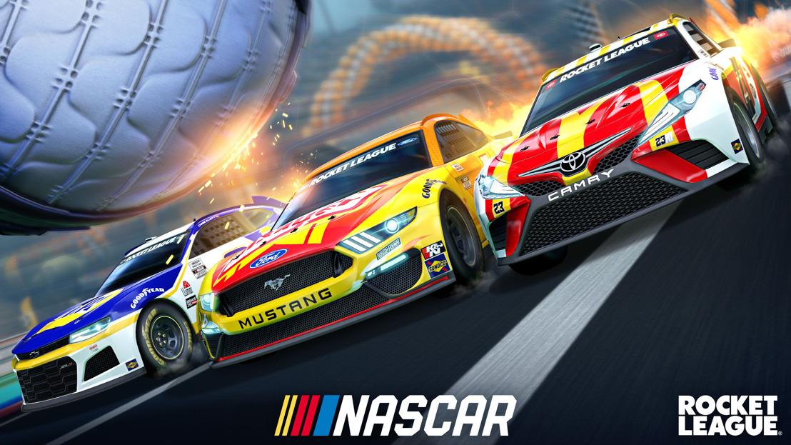 PSYONIX Y NASCAR ANUNCIAN EL NASCAR 2021 FAN PACK DISPONIBLE EN ROCKET LEAGUE EL 6 DE MAYO