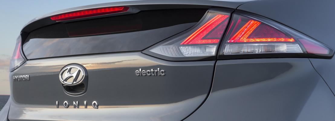 Nieuwe Hyundai Ioniq Electric