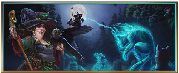 Preview: Misty Forest: Halloween Event begins in Elvenar