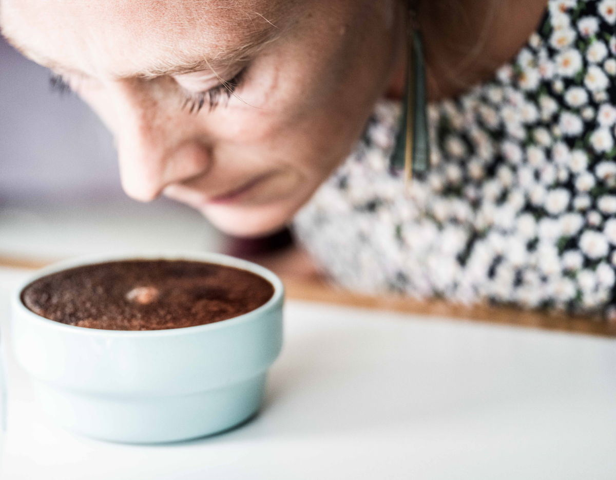 Sarah Bergé, head coffee roaster at Ray & Jules