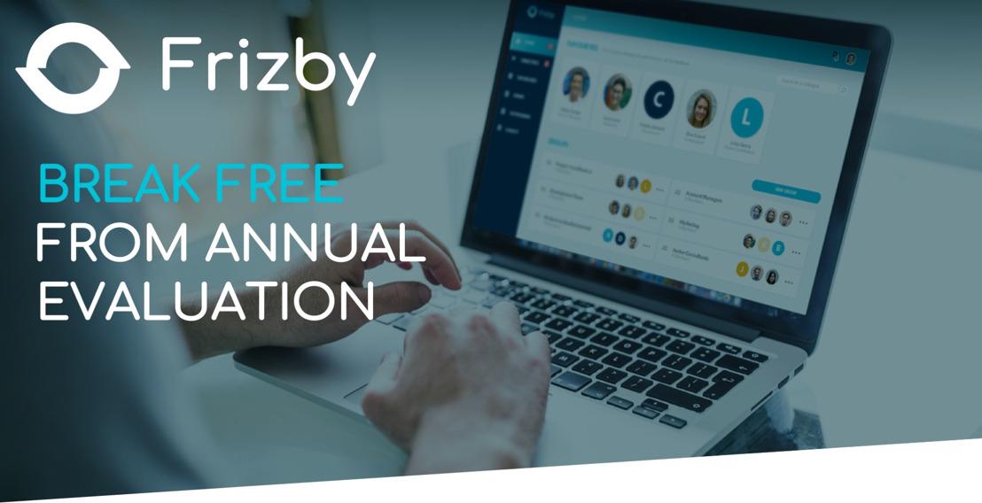 Frizby, de nieuwe HR-app die komaf maakt met jaarlijkse evaluaties