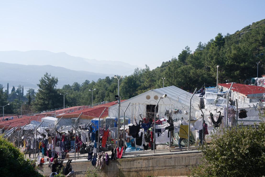 Una respuesta a la COVID-19 negligente y peligrosa agrava el riesgo para los refugiados del campo de Vathy en Samos