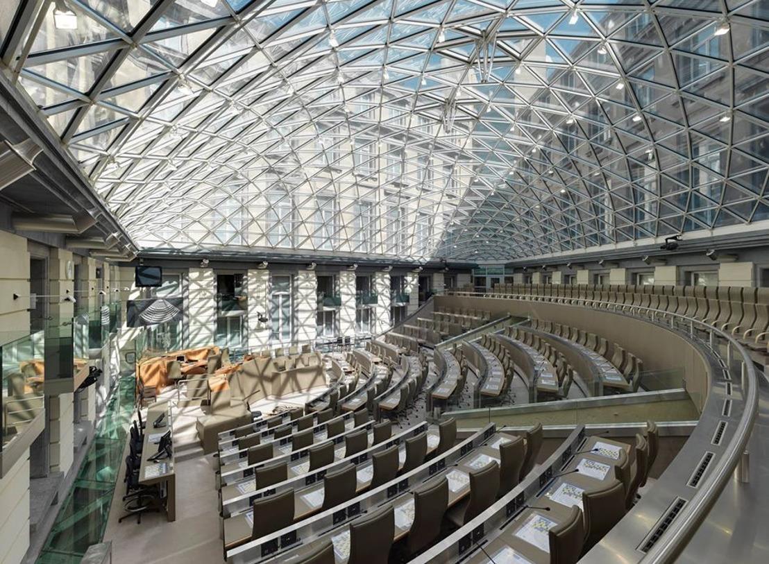 Vlaams Parlement neemt maatregelen voor een veilige opstart van het nieuwe parlementaire jaar