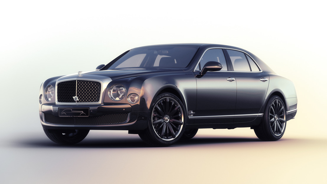 La Bentley Mulsanne Speed « Blue Train » par Mulliner