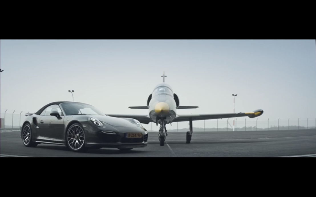 Jet vs. Porsche