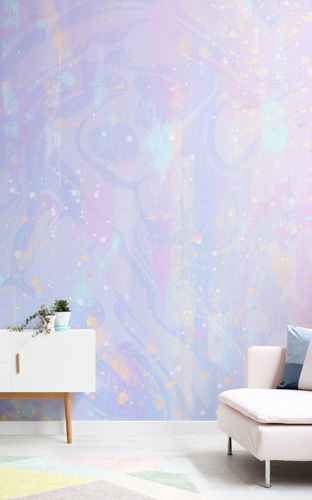What would it look like if a unicorn exploded? This wallpaper design holds the answer