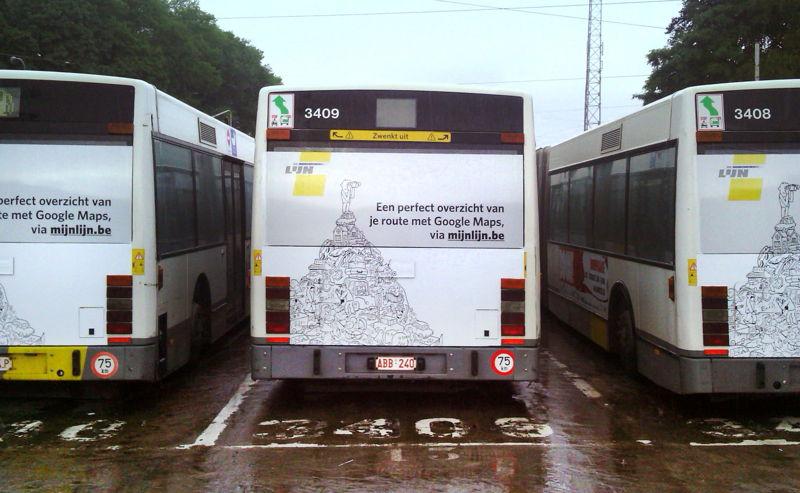 Busbekleving foto