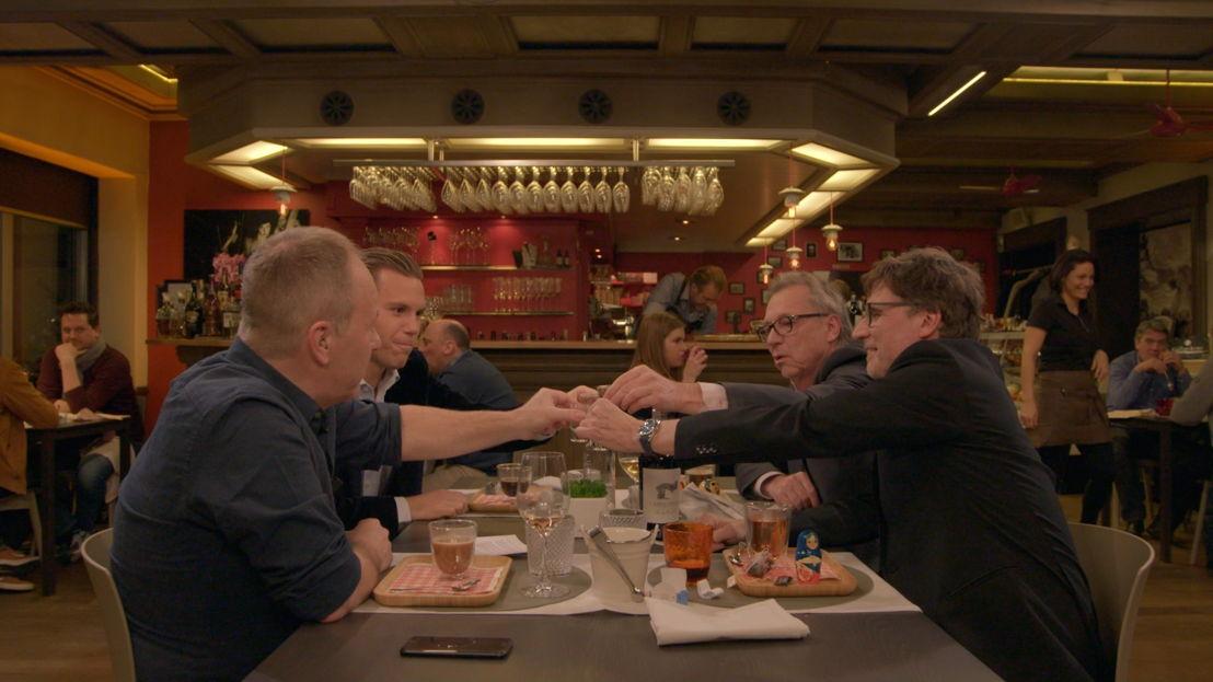Wereldkampioenen - aflevering 1: Ben Crabbé, Ruud Vormer, Jan Mulder en Erik Van Looy - (c) VRT