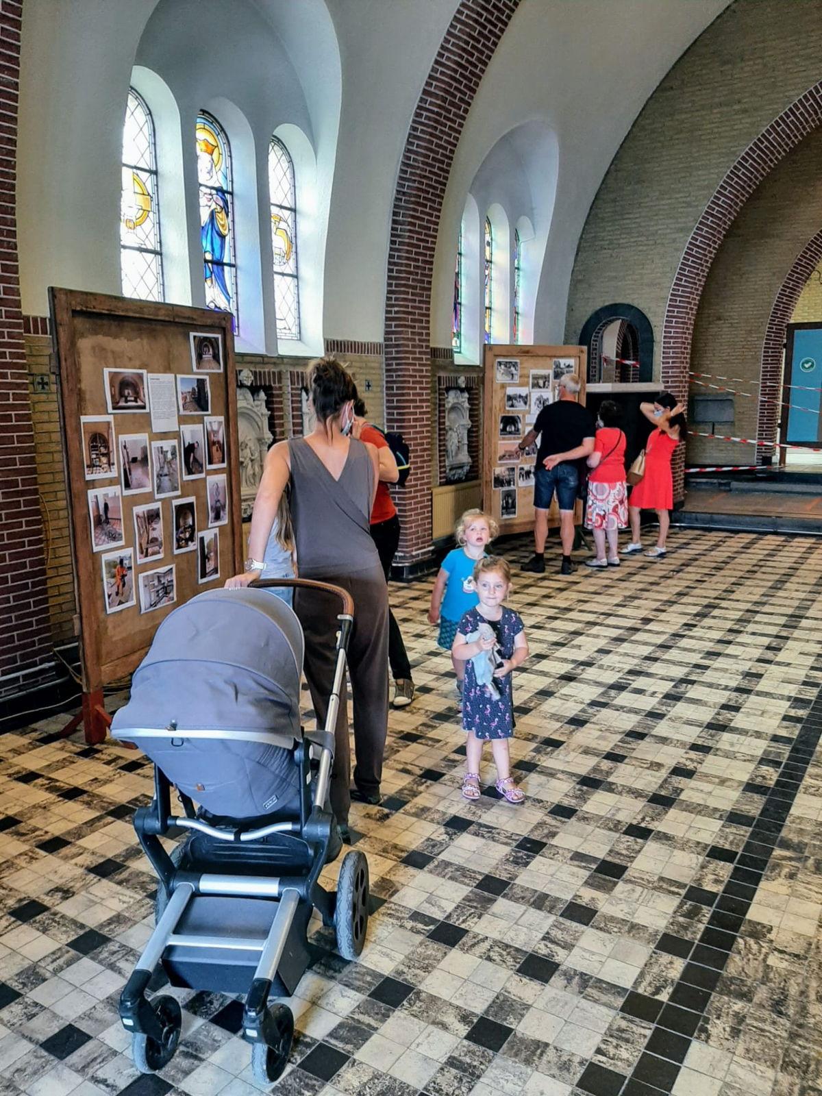 Inwoners van Wange konden op 27 juni kennis maken met het toekomstige ontmoetingscentrum in de herbestemde kerk