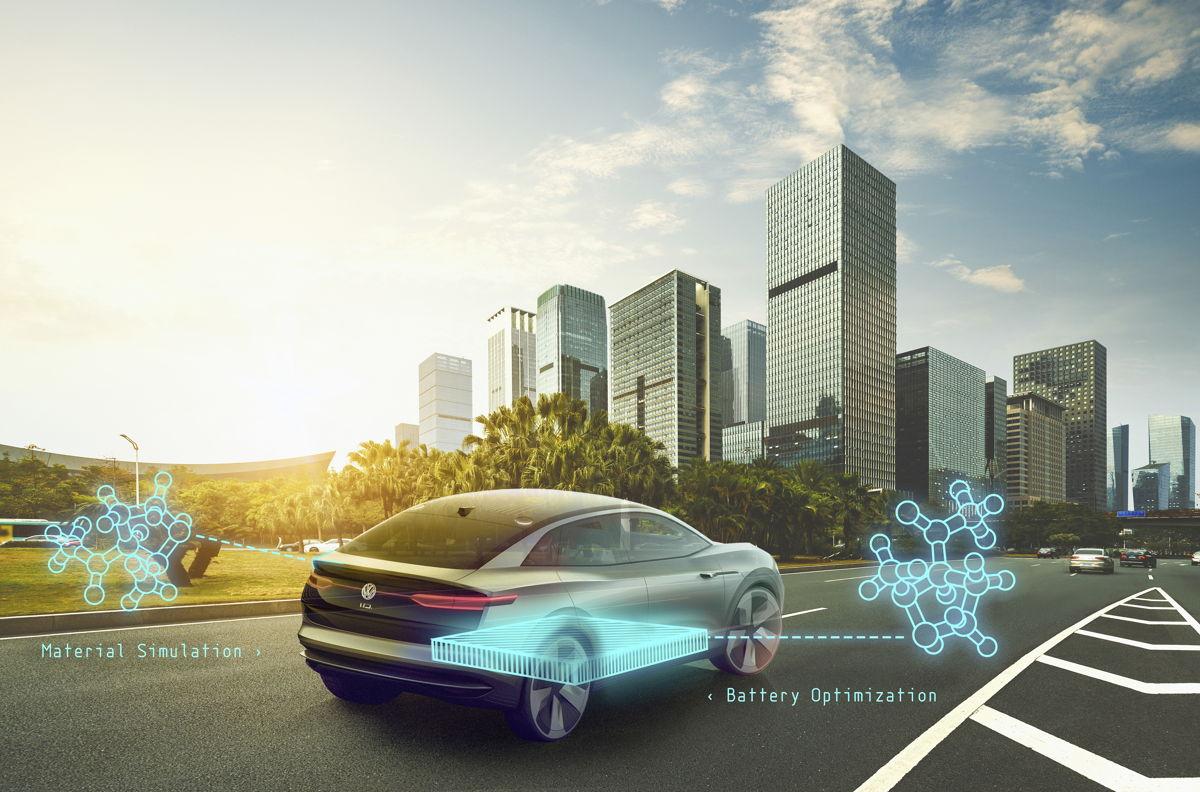 Volkswagen-groep en Google werken samen aan kwantumcomputeronderzoek