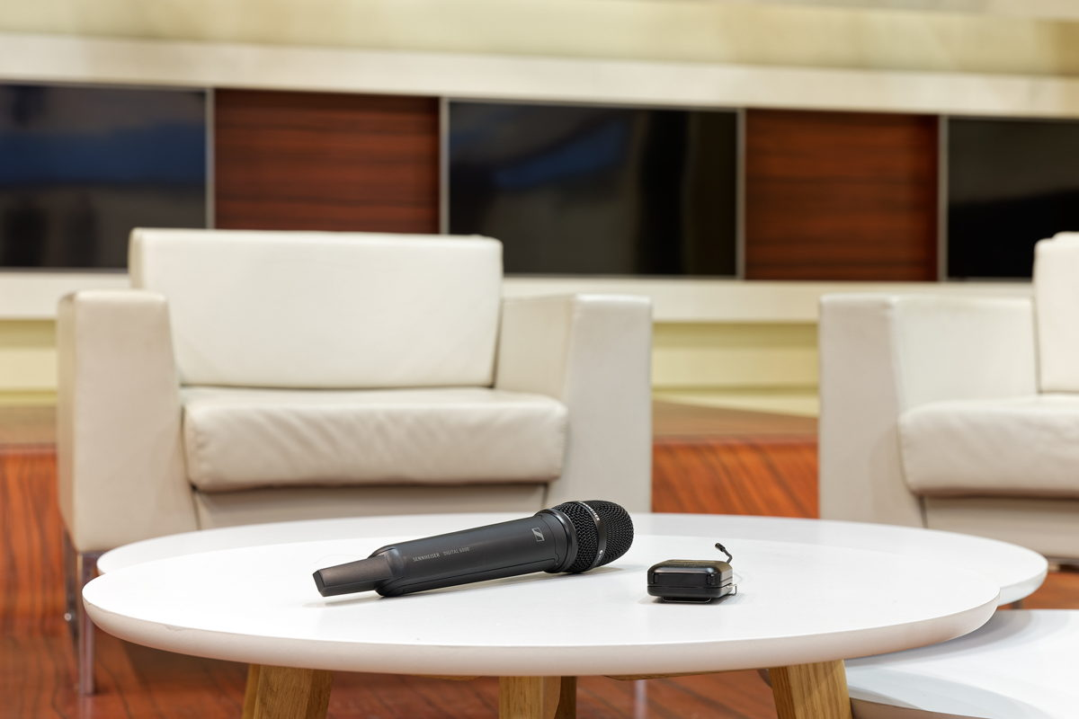 70 digital wireless channels have been in use at Studio Berlin GmbH since autumn 2019
