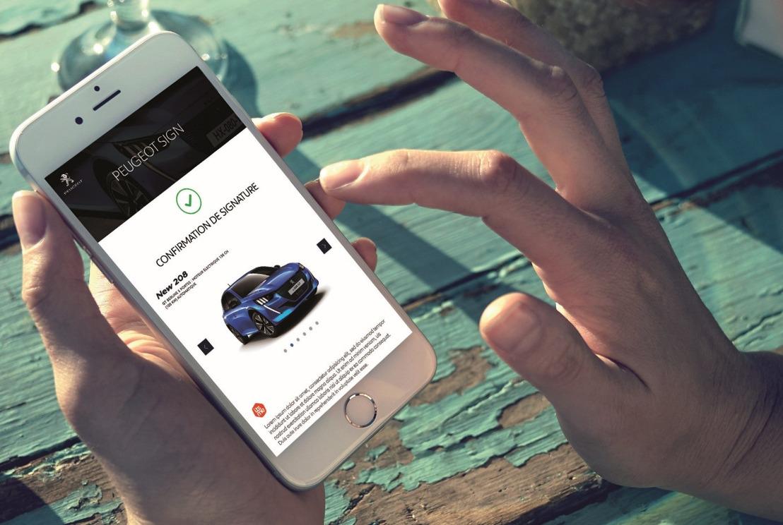Een nieuwe Peugeot, Citroën, DS of Opel kopen van thuis kan nu dankzij Havas