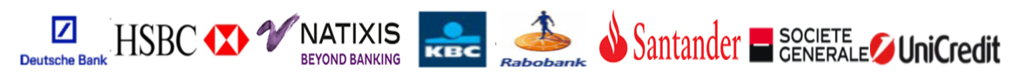 Logo's of the banks of the consortium