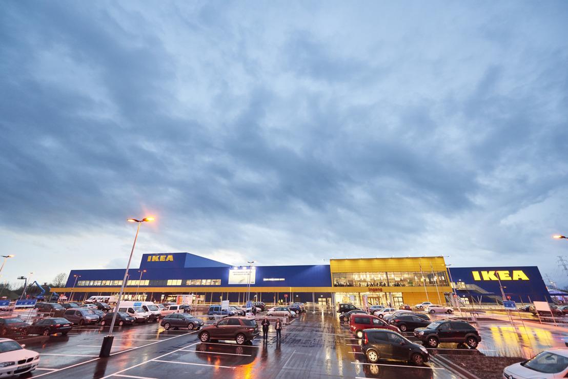 IKEA Hasselt ontvangt eerste klanten