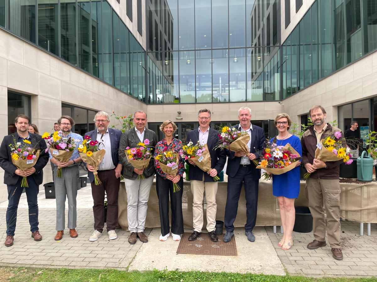 In Tervuren kwamen de provincie Vlaams-Brabant, ANB en de gemeenten Tervuren, Hoeilaart, Overijse en St.-Genesius-Rode samen om verder te werken aan een sterke regio in en rond het Zoniënwoud