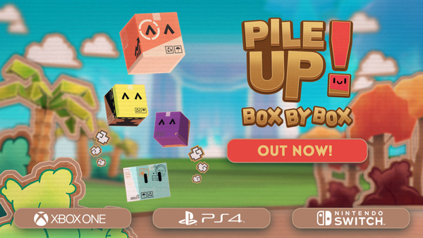 """Preview: Your parcel is due for delivery today - """"Pile Up! Box by Box"""" is out now!"""