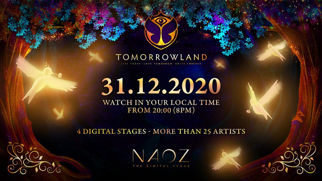 TOMORROWLAND présente son évènement digital du 31 décembre 2020