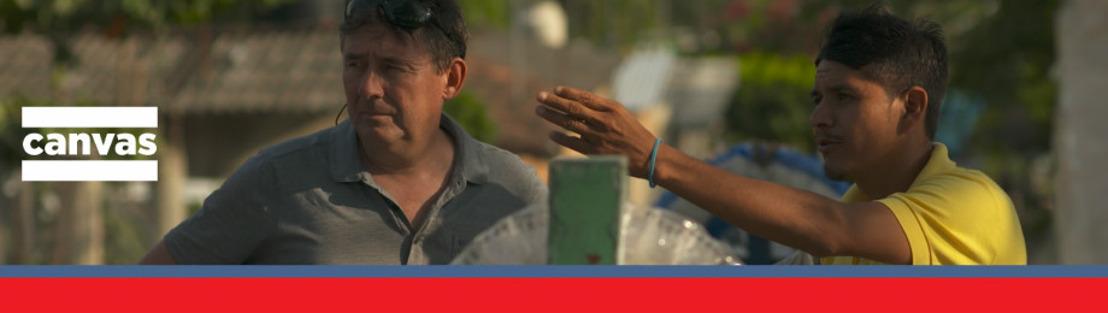 Rudi Vranckx ontmoet drie kleine helden in Mexico