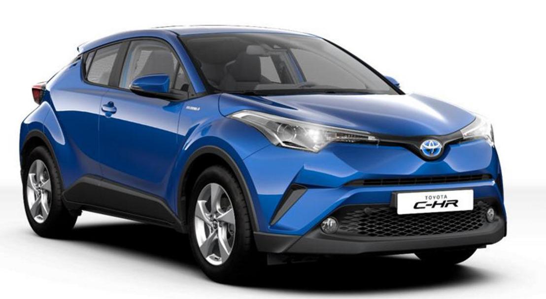 Toyota C-HR business (plus): nieuwe samenstelling