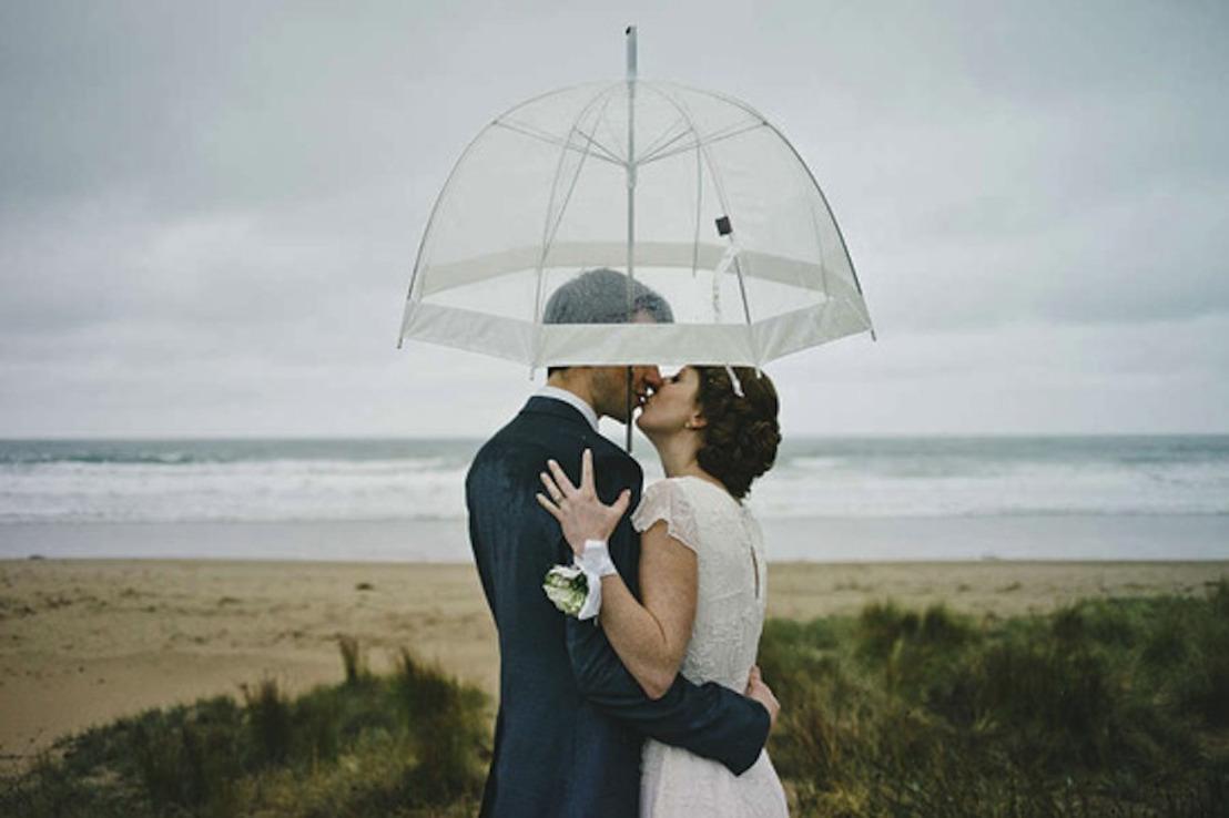 Huwelijk in de regen? 3 oplossingen van Katchoo.be