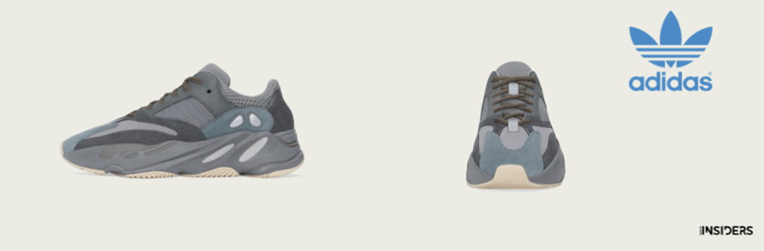 adidas + KANYE WEST anuncian el lanzamiento del YEEZY BOOST 700 Teal Blue