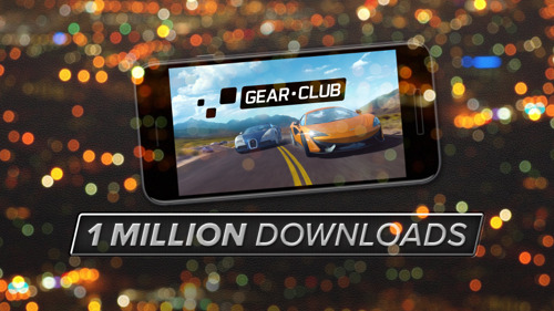 Gear.Club Leaps from 0 to 1,000,000 Installs in 5 days in Apple App Store